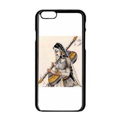 Oriental Beauty Apple iPhone 6 Black Enamel Case