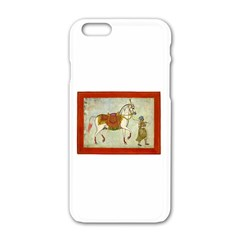 White Beauty Apple Iphone 6 White Enamel Case