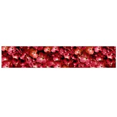 Warm Floral Collage Print Flano Scarf (large)
