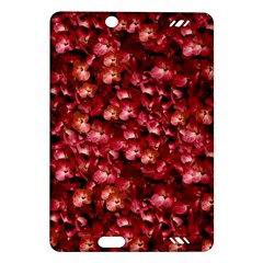 Warm Floral Collage Print Kindle Fire HD (2013) Hardshell Case