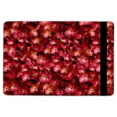 Warm Floral Collage Print Apple iPad Air Flip Case