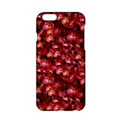Warm Floral Collage Print Apple iPhone 6 Hardshell Case