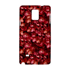 Warm Floral Collage Print Samsung Galaxy Note 4 Hardshell Case