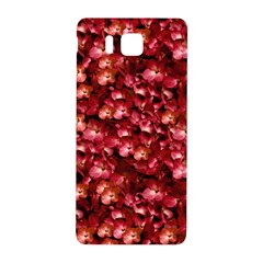 Warm Floral Collage Print Samsung Galaxy Alpha Hardshell Back Case