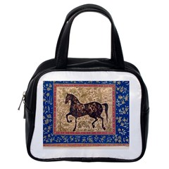 Abstract Horse  Classic Handbag (one Side)