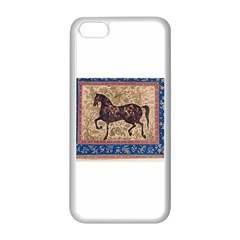 Abstract Horse  Apple Iphone 5c Seamless Case (white)