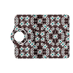 Modern Floral Geometric Pattern Kindle Fire HD (2013) Flip 360 Case