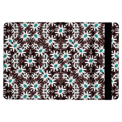 Modern Floral Geometric Pattern Apple iPad Air Flip Case