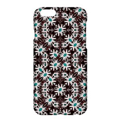 Modern Floral Geometric Pattern Apple iPhone 6 Plus Hardshell Case