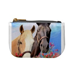 Miwok Horses Coin Change Purse