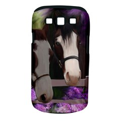 Two Horses Samsung Galaxy S III Classic Hardshell Case (PC+Silicone)