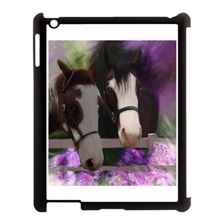Two Horses Apple iPad 3/4 Case (Black)