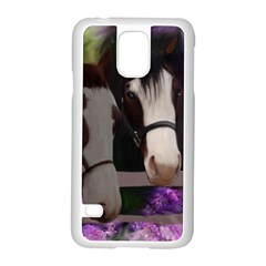 Two Horses Samsung Galaxy S5 Case (white)