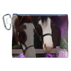 Two Horses Canvas Cosmetic Bag (XXL)