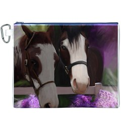 Two Horses Canvas Cosmetic Bag (XXXL)