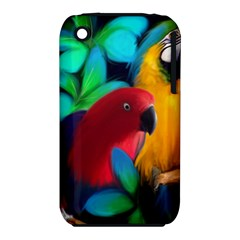 Two Friends Apple iPhone 3G/3GS Hardshell Case (PC+Silicone)