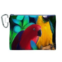 Two Friends Canvas Cosmetic Bag (XL)