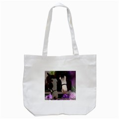 Two Horses Tote Bag (White)