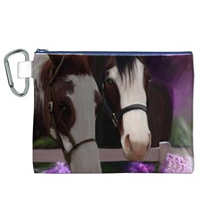 Two Horses Canvas Cosmetic Bag (XL)