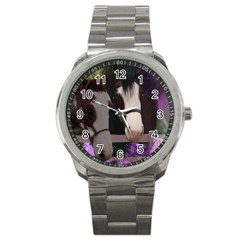 Two Horses Sport Metal Watch