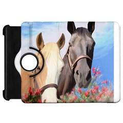 Miwok Horses Kindle Fire Hd Flip 360 Case
