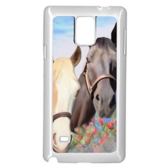 Miwok Horses Samsung Galaxy Note 4 Case (White)