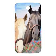 Miwok Horses Samsung Galaxy Mega I9200 Hardshell Back Case