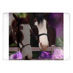 Two Horses Samsung Galaxy Tab 10.1  P7500 Flip Case