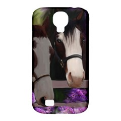 Two Horses Samsung Galaxy S4 Classic Hardshell Case (PC+Silicone)