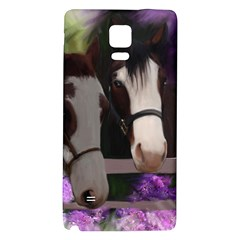 Two Horses Samsung Note 4 Hardshell Back Case
