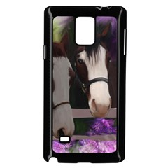 Two Horses Samsung Galaxy Note 4 Case (black)