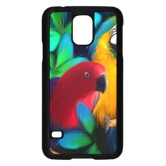 Two Friends Samsung Galaxy S5 Case (Black)