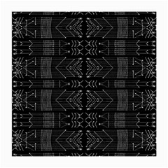Black And White Tribal  Glasses Cloth (medium, Two Sided)
