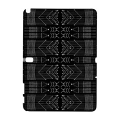 Black and White Tribal  Samsung Galaxy Note 10.1 (P600) Hardshell Case