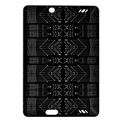 Black and White Tribal  Kindle Fire HD (2013) Hardshell Case