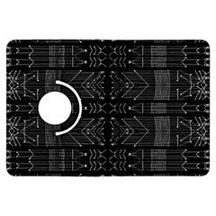 Black and White Tribal  Kindle Fire HDX Flip 360 Case