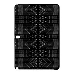 Black And White Tribal  Samsung Galaxy Tab Pro 12 2 Hardshell Case