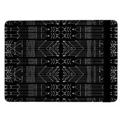 Black and White Tribal  Samsung Galaxy Tab Pro 12.2  Flip Case