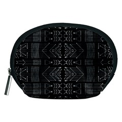 Black and White Tribal  Accessory Pouch (Medium)