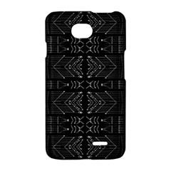 Black and White Tribal  LG Optimus L70 Hardshell Case