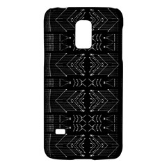 Black and White Tribal  Samsung Galaxy S5 Mini Hardshell Case