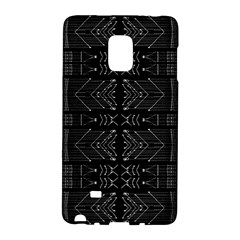 Black and White Tribal  Samsung Galaxy Note Edge Hardshell Case