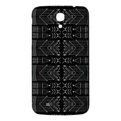 Black and White Tribal  Samsung Galaxy Mega I9200 Hardshell Back Case