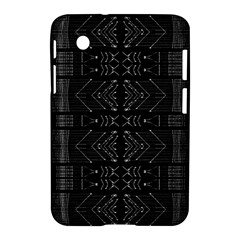 Black And White Tribal  Samsung Galaxy Tab 2 (7 ) P3100 Hardshell Case