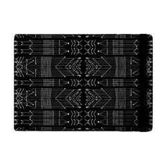 Black and White Tribal  Apple iPad Mini 2 Flip Case