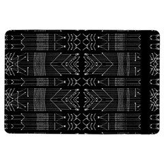 Black and White Tribal  Apple iPad Air Flip Case