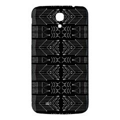 Black and White Tribal  Samsung Galaxy Mega I9200 Hardshell Back Case