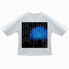 Binary Rain Baby T Shirt