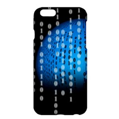Binary Rain Apple iPhone 6 Plus Hardshell Case