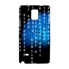 Binary Rain Samsung Galaxy Note 4 Hardshell Case